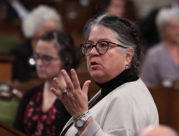 Revenue Minister Diane Lebouthillier during Question Period in the House of Commons in Ottawa on Dec. 7, 2017.