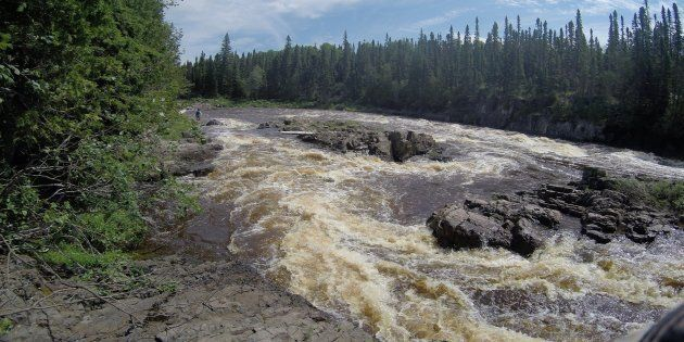 The North French River in northeastern Ontario.