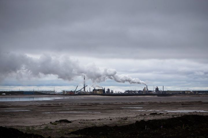 The Syncrude facility stands in the Athabasca oilsands near Fort McMurray, Alta. on Sept. 9, 2018.