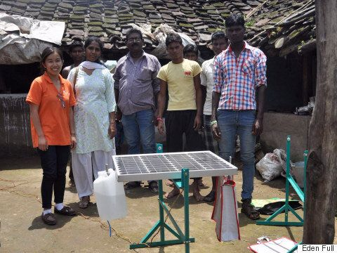 Canadian Inventor Eden Full's Low-Tech Fix Solves Solar Power's Biggest