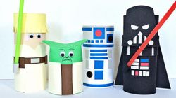 14 Fun Star Wars Crafts For Your Little