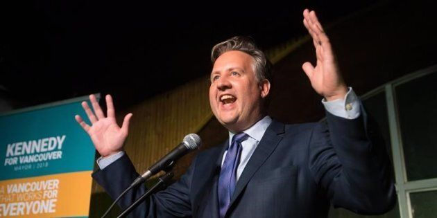 Kennedy Stewart was elected mayor of Vancouver among many turnovers on B.C. municipal election day