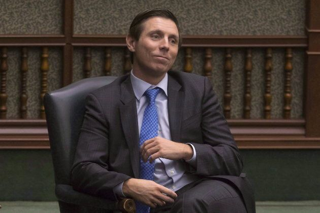 Independent MPP and former Ontario PC leader Patrick Brown listens to the provincial budget being delivered...