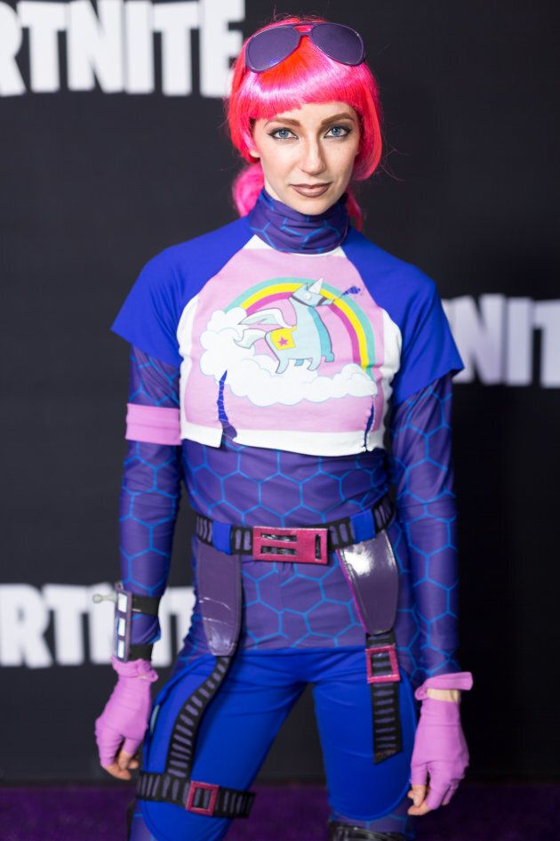Brite Bomber attended the Epic Games Hosts Fortnite Party Royale on June 12, 2018 in Los Angeles, California.