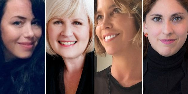 Meet women set on shattering the grass ceiling of Canada's cannabis industry: (From left to right) Gill Polard, Bridget Hoffer, Pamela Hadfield, and Caroline Lavoie.