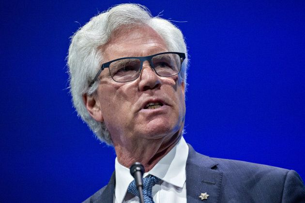 Jim Carr speaks during the World Gas Conference in Washington, D.C., U.S, on Tuesday, June 26,