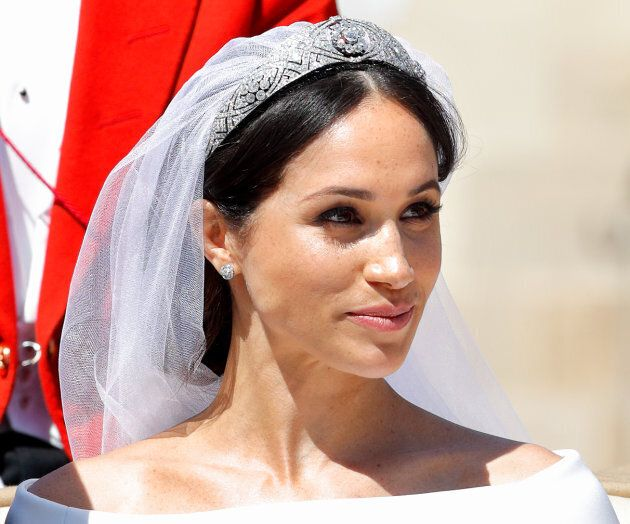 Meghan Markle stunned with her minimal makeup look on her wedding