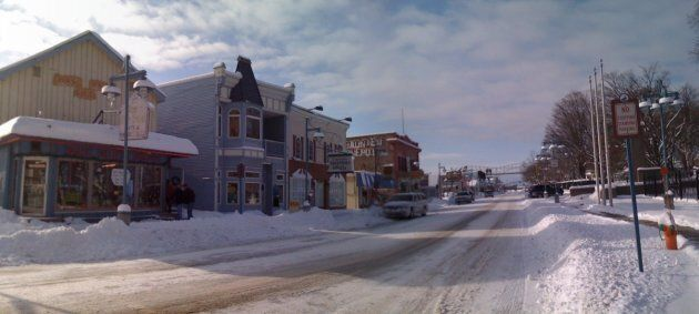 Downtown Sault Ste. Marie.
