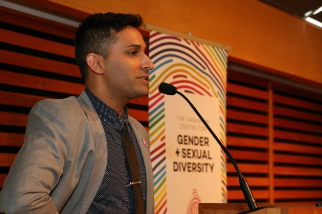 Jeremy Dias of the Canadian Centre for Gender & Sexual Diversity.