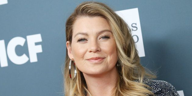 Ellen Pompeo attends the GLSEN Respect Awards held at the Beverly Wilshire Four Seasons Hotel on October...