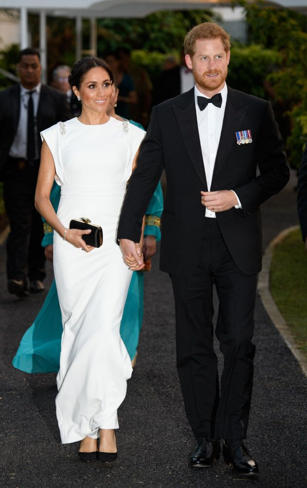 The duke and duchess look like perfection.