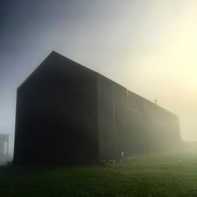 Housed in this looming black barn is some of Canada's best new cuisine, via The Restaurant at Pearl Morissette...