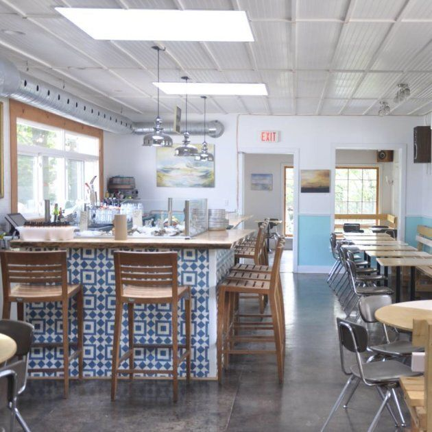 The Sand and Pearl Oyster Bar, in Picton, Ont., serves up fresh seafood just hours away from