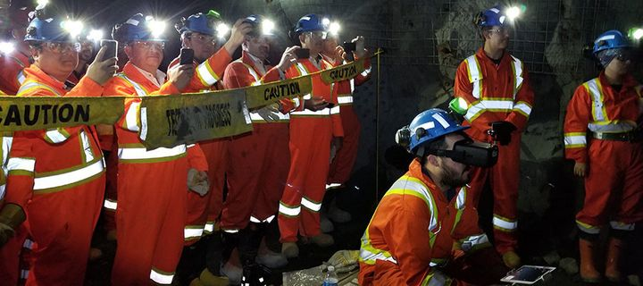 NORCAT Underground Centre is an operating test mine.