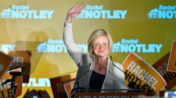 No, That Wasn't A Dream. Alberta Elected A NDP Government Last