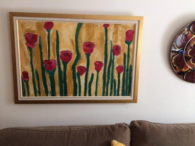 Enrica's art work.