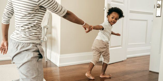 Parents should be the boss of toddlers, not the other way