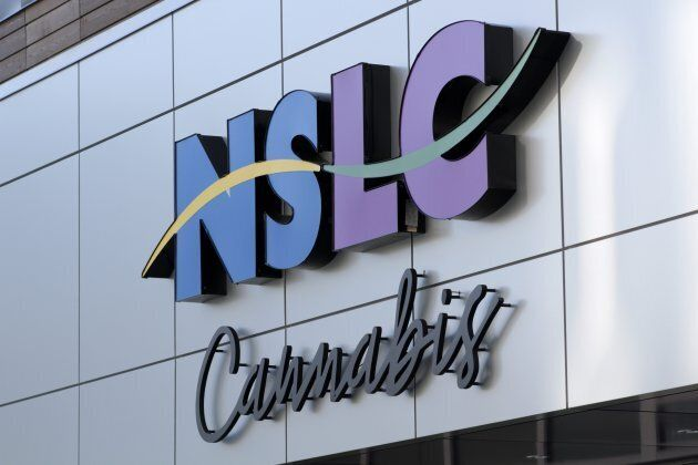 The NSLC Cannabis Store on Clyde Street in Halifax on Oct. 17,