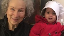 Praise Be, Toddler In Handmaid Costume Meets Margaret