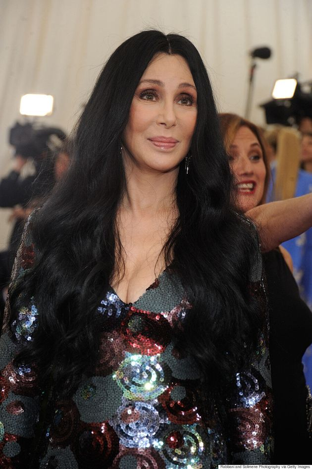 Cher's 2015 Met Gala Dress Was Sparkling