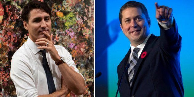Prime Minister Justin Trudeau and Conservative Leader Andrew Scheer say they expect the 2019 federal...