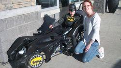 Alberta Barber Creates Coolest Wheelchair Batmobile For Kid