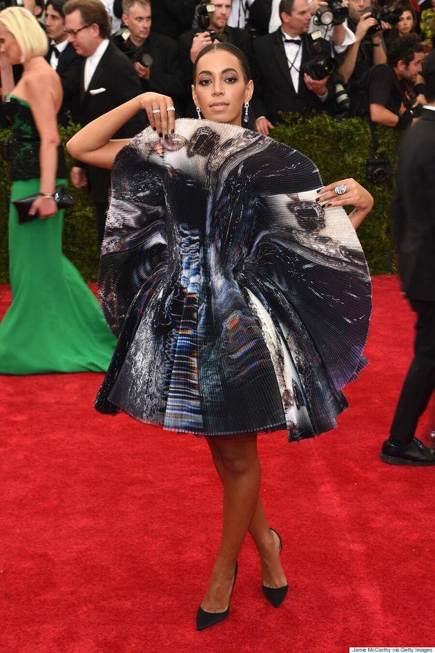 Solange Knowles' Met Gala 2015 Dress Is Literally The