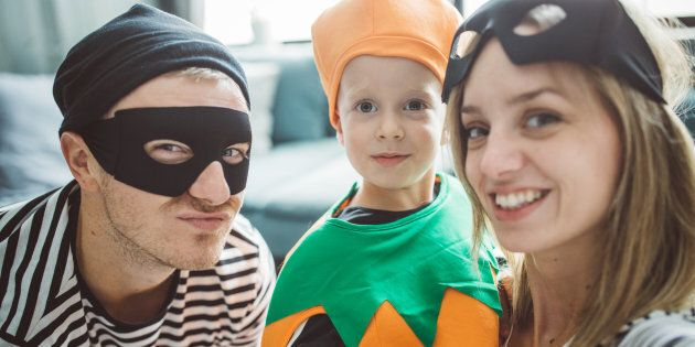 You can pull together a last-minute costume in no