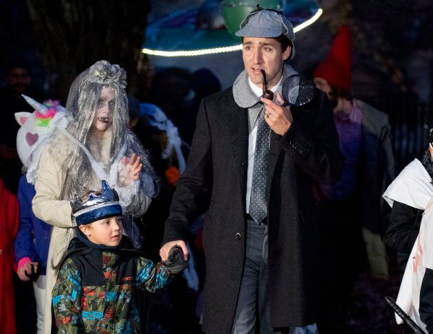 Prime Minister Justin Trudeau Was Sherlock Holmes For