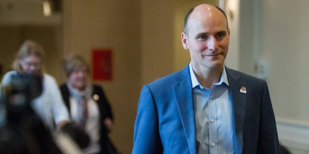 File photo of Families, Children and Social Development Jean-Yves Duclos.