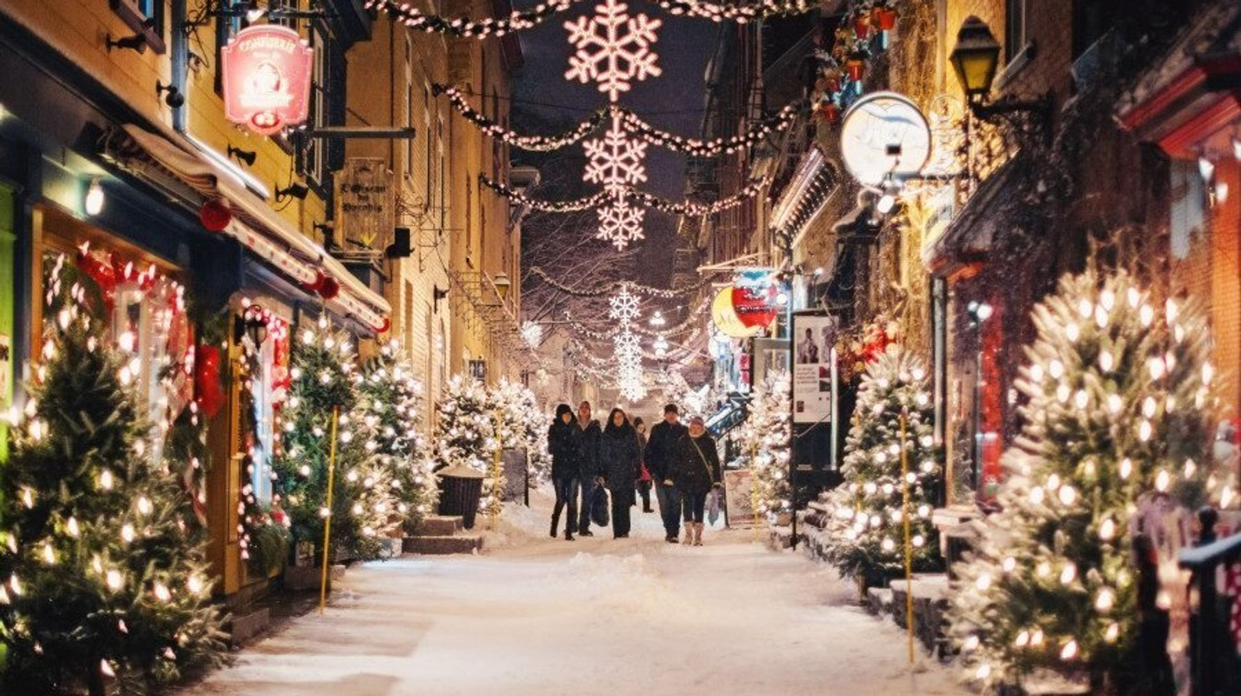 Quebec Christmas 2020 5 Ways Quebec City Can Give You A Fairytale Holiday | HuffPost