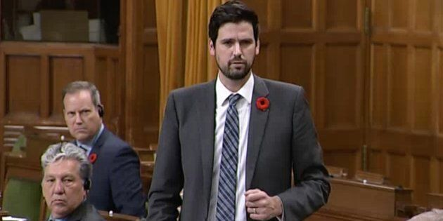 Sean Fraser, parliamentary secretary to the minister of environment and climate change, speaks in the...