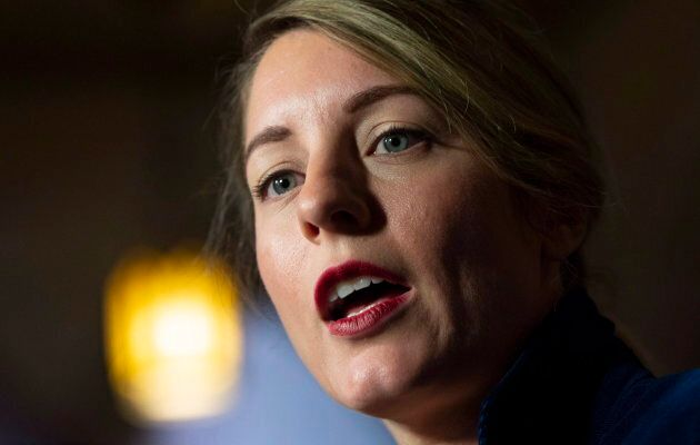 Melanie Joly, former heritage minister, in Ottawa on Oct. 4,