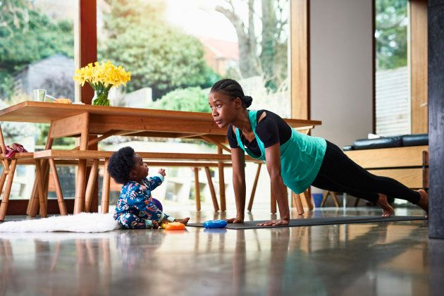 Yoga has been shown to help symptoms of postpartum depression.
