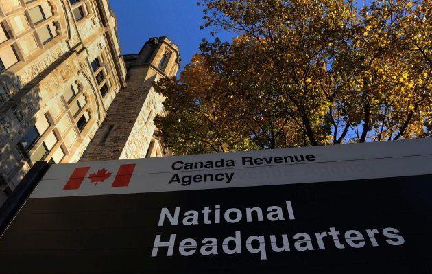 The Canada Revenue Agency headquarters in Ottawa on Nov. 4,