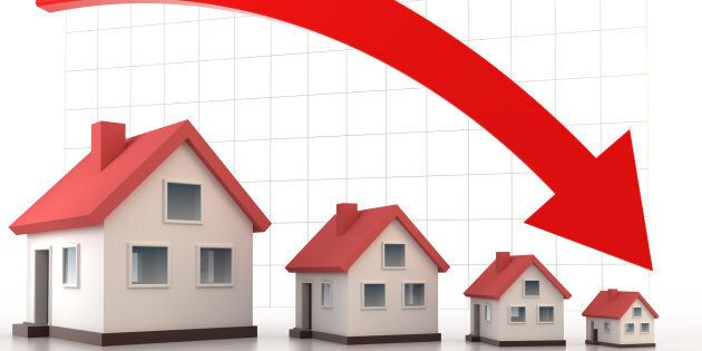 Canada Mortgage and Housing Corp. projects housing starts and sales are both expected to decline in 2019...