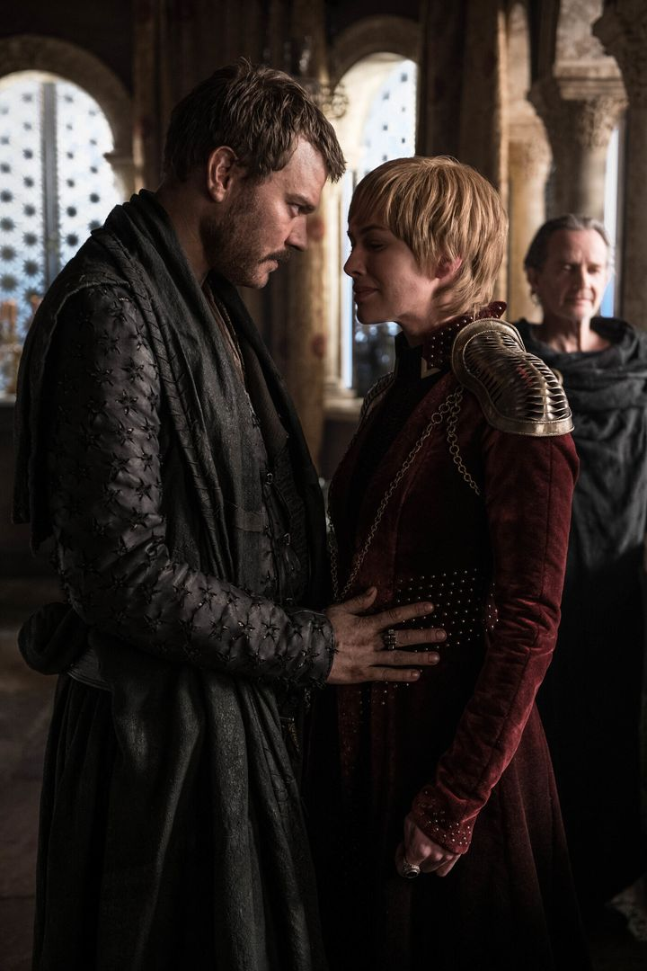 Euron and Cersei, one happy murderous family.