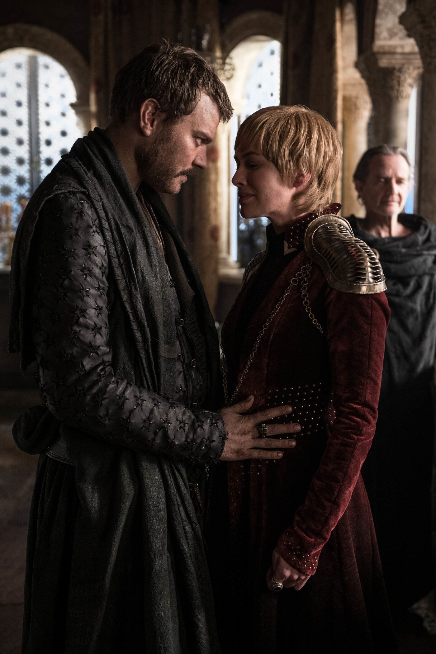 Cersei just hoping Maury isn't going to bust in with the DNA results.