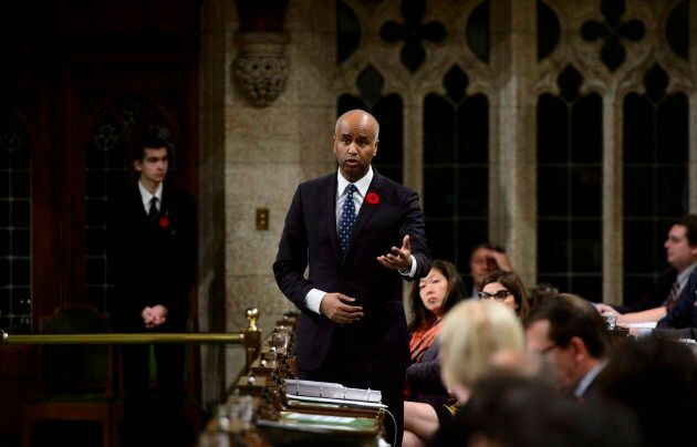 Minister of Immigration, Refugees and Citizenship Ahmed Hussen during question period in the House of...