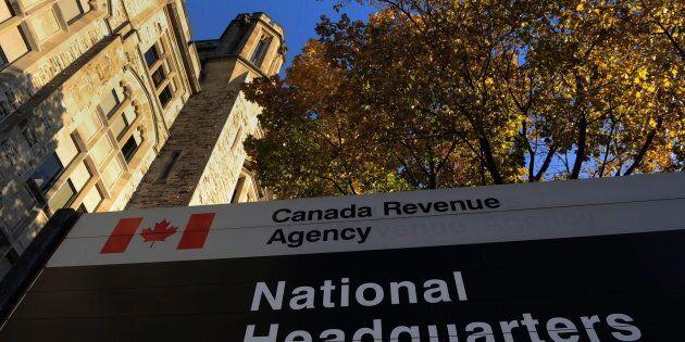 The Canada Revenue Agency headquarters in Ottawa on Nov 4,