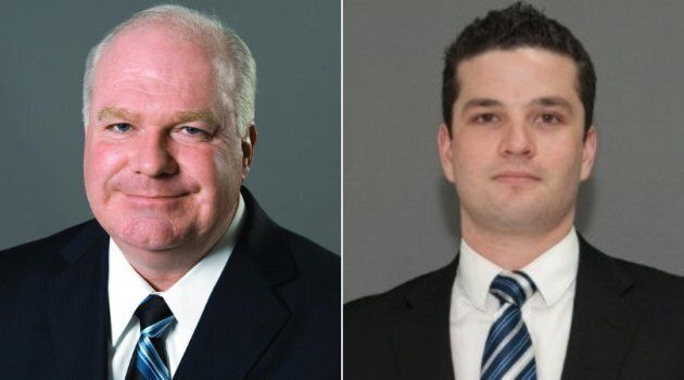 Minister Jim Wilson and staffer Andrew Kimber, who worked in Premier Doug Ford's office, both resigned...