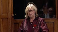 Elizabeth May Moved To Tears After MS St. Louis