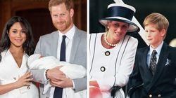 Harry subito dopo la nascita di Archie parla della madre Lady Diana. E commuove