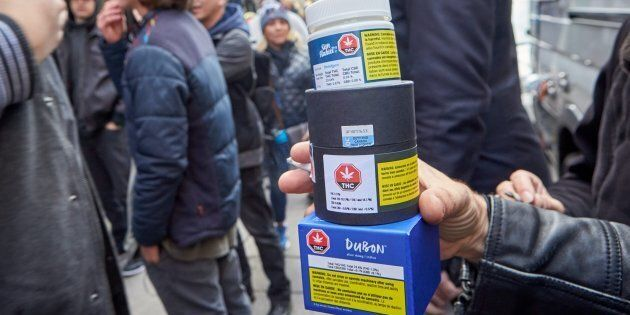 Legal cannabis products available from Quebec's government agency responsible for overseeing recreational...