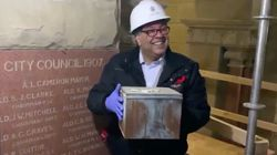 110-Year-Old Time Capsule Retrieved From Calgary City