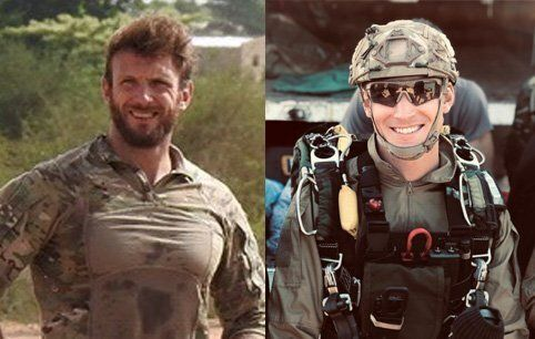 Cédric de Pierrepont (à gauche) et Alain Bertoncello sont morts cette nuit dans l'opération...