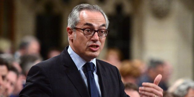 Conservative MPTonyClementstands during question period in the House of Commons on Parliament Hill on June 12, 2017.