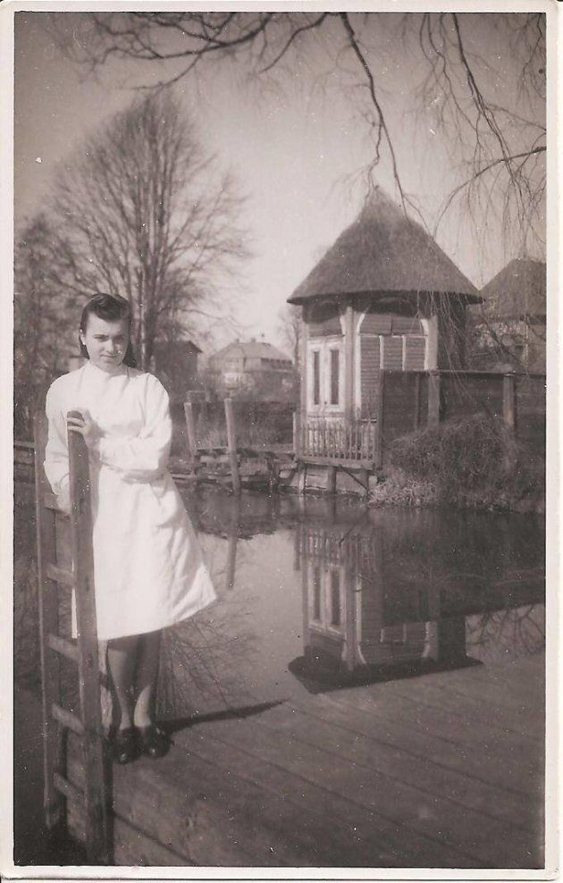 Valija Grauds, young and on her own in the British-held territory of Lubeck,
