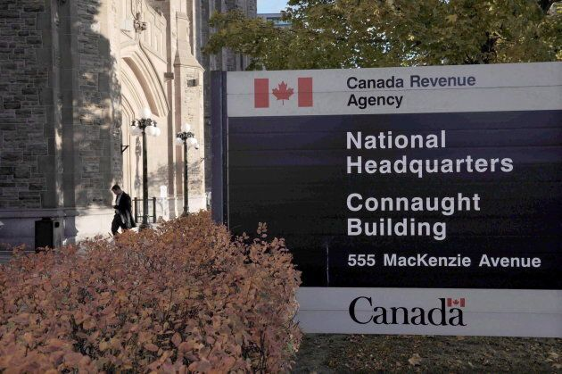 File photo of the Canada Revenue Agency headquarters in
