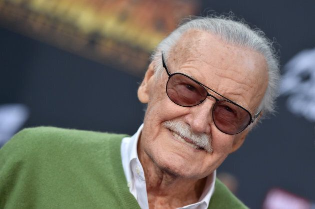 Stan Lee attends the premiere of Disney and Marvel's 'Avengers: Infinity War' on April 23, 2018 in Hollywood,